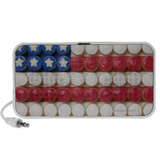 American flag made of cupcakes iPhone speakers