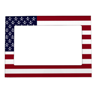 AMERICAN FLAG MAGNETIC PHOTO FRAME