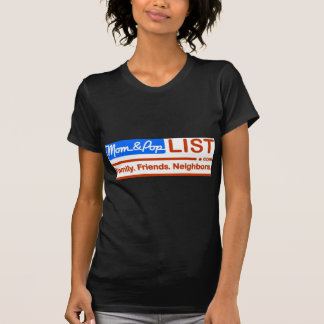 American Flag Mom and Pop T-Shirt