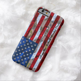American Flag Monogram Slim Barely There iPhone 6 Case