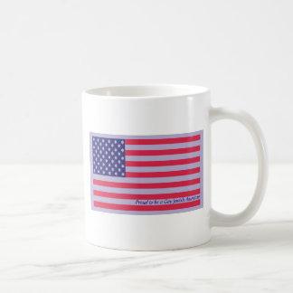 American Flag Mug