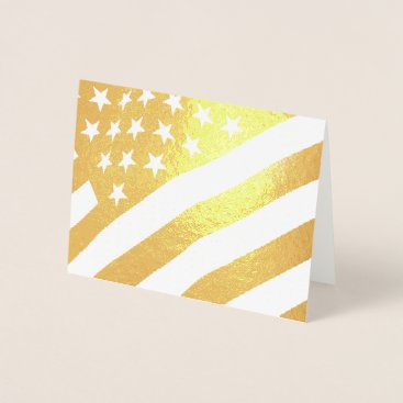 USA Themed American Flag Note Card
