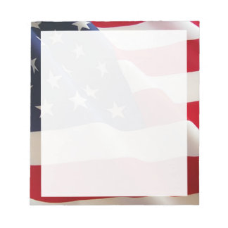 American Flag Note Pads
