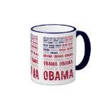 American Flag Obama Mug