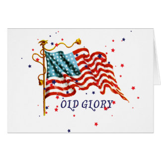 American Flag, Old Glory Greeting Card