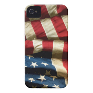 American flag on BlackBerry Bold 9700/9780 iPhone 4 Case-Mate Case