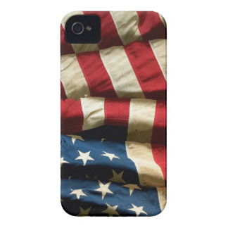 American flag on iPhone 4 Case-Mate Barely There™