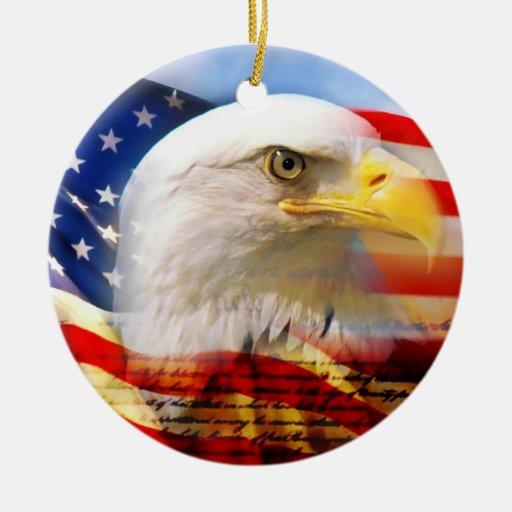 American flag ornament zazzle