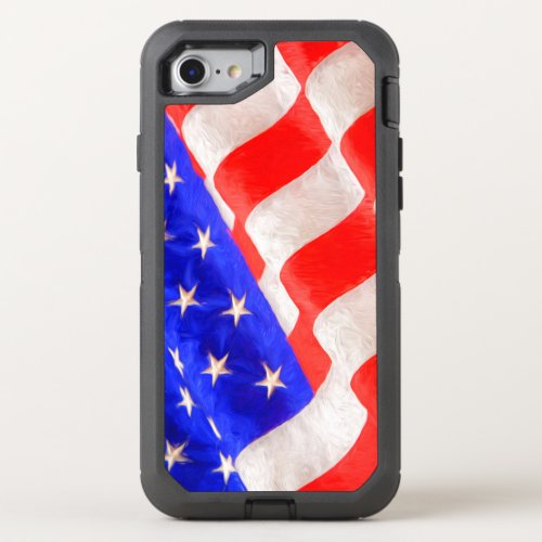 American Flag OtterBox Defender iPhone 6/6s Phone Case