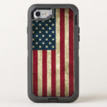 American Flag Otterbox Defender Iphone 7 Case at Zazzle