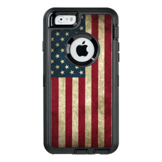 American Flag OtterBox Defender iPhone Case