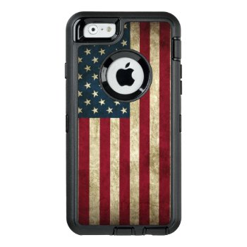 American Flag Otterbox Defender Iphone Case by stevelaven at Zazzle