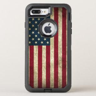 uk availability ae255 4516f American Flag OtterBox Defender iPhone 8 Plus/7 Plus Case