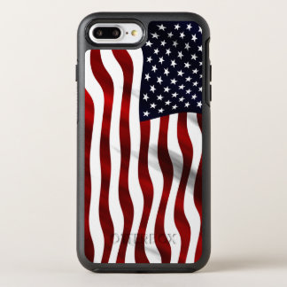 American Flag OtterBox Symmetry iPhone 8 Plus/7 Plus Case