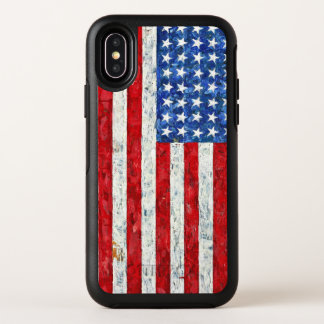 American Flag OtterBox Symmetry iPhone X Case