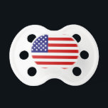 """American flag pacifier<br><div class=""""desc"""">american,  flag,  merica,  america,  &quot;&#39;merica&quot;,  usa,  &quot;usa flag&quot;,  patriotic,  patriotism,  &quot;united states&quot;,  &quot;united states of america&quot;,  &quot;july 4th&quot;,  &quot;july forth&quot;,  &quot;forth of july&quot;,  &quot;4th of july&quot;,  &quot;independence day&quot;,  stars,  stripes,  red,  white,  blue,  flags,  country, </div>"""