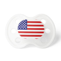 American flag pacifier