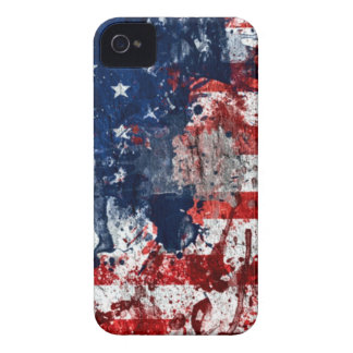 American Flag Paint iPhone 4 Case-Mate Case