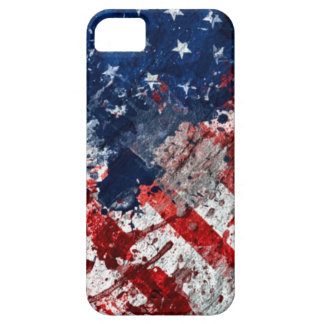 American Flag Paint iPhone SE/5/5s Case