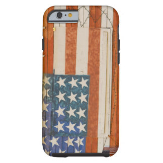 American flag painted onto fireworks stand near tough iPhone 6 case