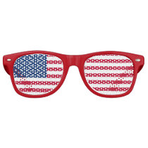 American Flag party shades