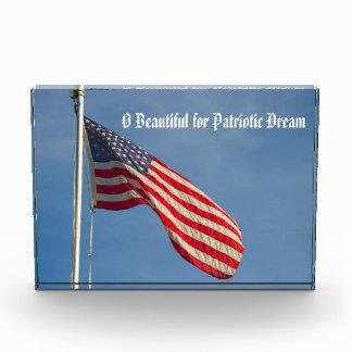 American Flag Patriot Dream Award