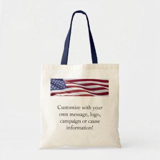 American Flag Patriotic Bag