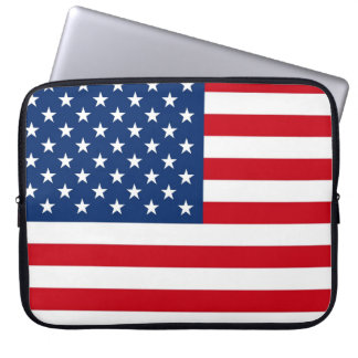 American Flag Patriotic Design Notebook Sleeve Laptop Computer Sleeve