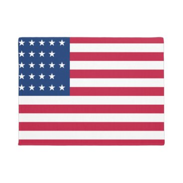 USA Themed American Flag Patriotic Doormat