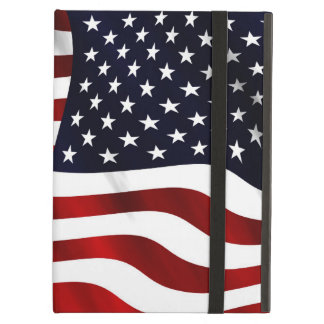 American Flag Patriotic Independence Day Cover For iPad Air