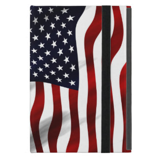 American Flag Patriotic Independence Day Covers For iPad Mini