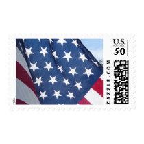 American Flag Patriotic Postage Stamp