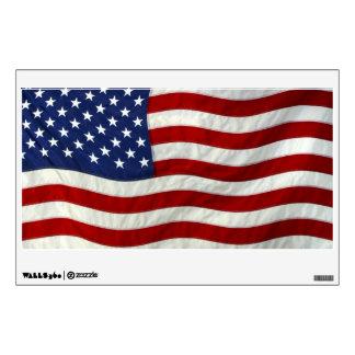 American Flag Patriotic Wall Decal