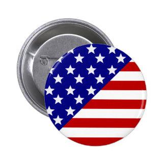 American Flag Pattern Pins