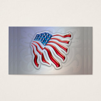 American Flag Personal or Business Cards