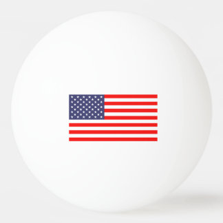 American flag ping pong balls for table tennis
