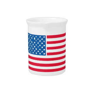 American Flag Pitchers