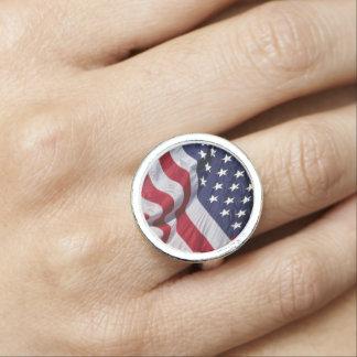 American Flag Rings