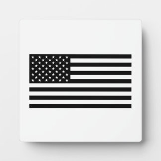 American Flag Display Plaques