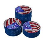AMERICAN FLAG POKER CHIP SET