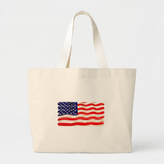 American Flag Popsicle Stick Folkart Bags