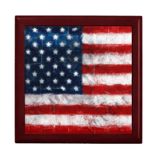 American Flag Portrait Gift Box