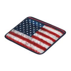 American Flag Portrait Macbook Air Sleeve at Zazzle