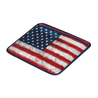 American Flag Portrait Macbook Air Sleeve