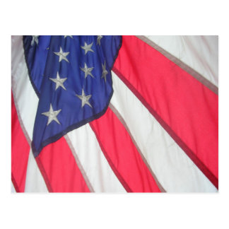American Flag Post Card