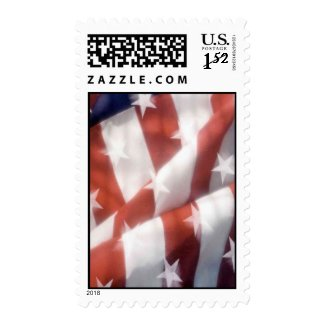 american flag postage stamp