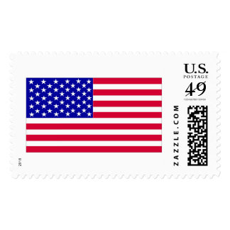 American Flag Postage