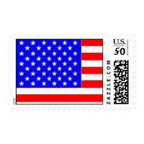 American flag postage stamp