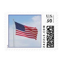 American Flag Postage Stamp 1