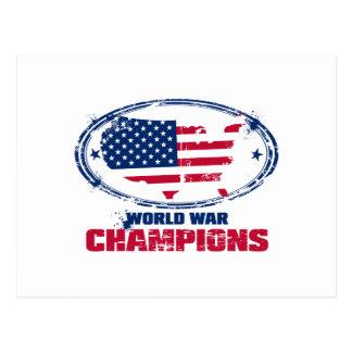 american_flag postcard